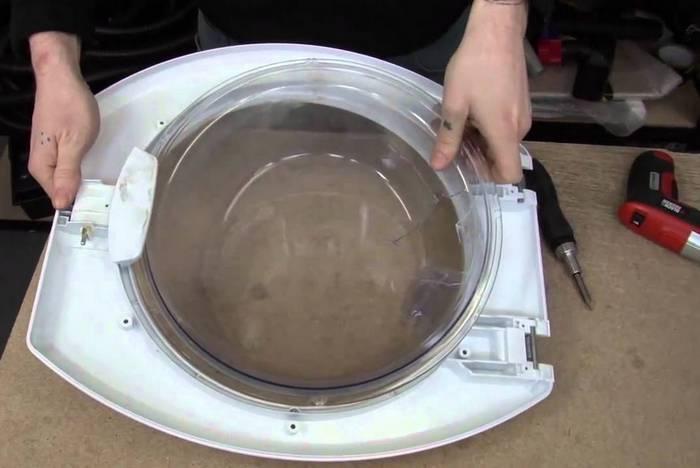 люк от стиральной машинки